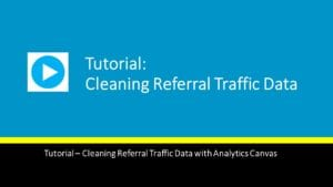 Cleaning Referral Traffic Data