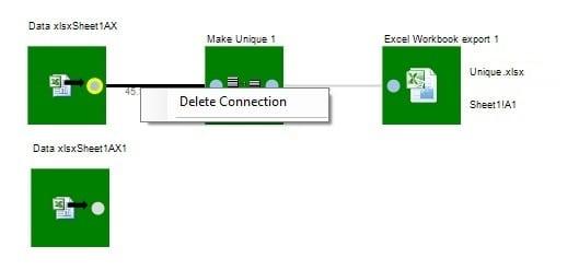 Delete Connection