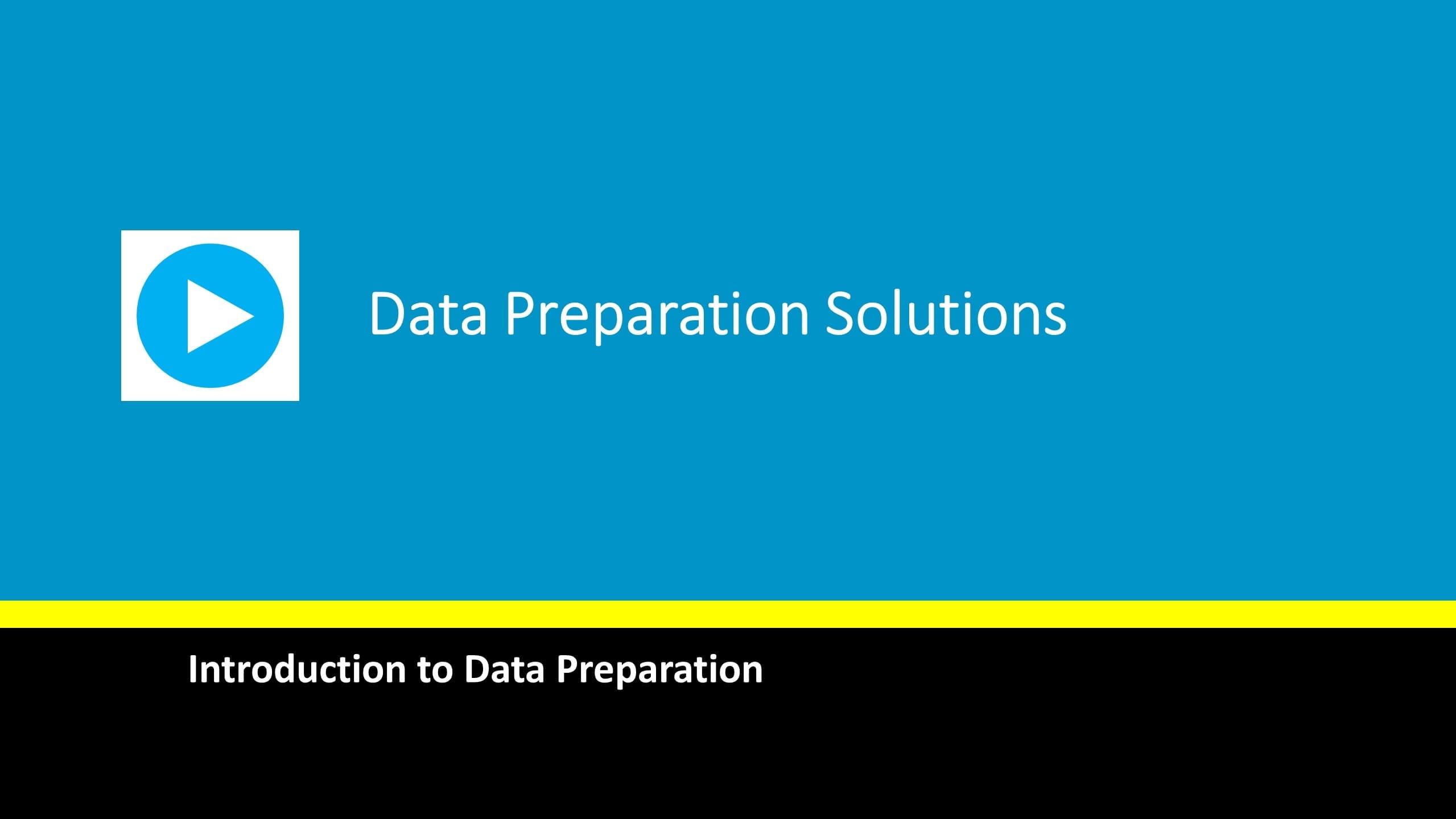 data-prep-solutions