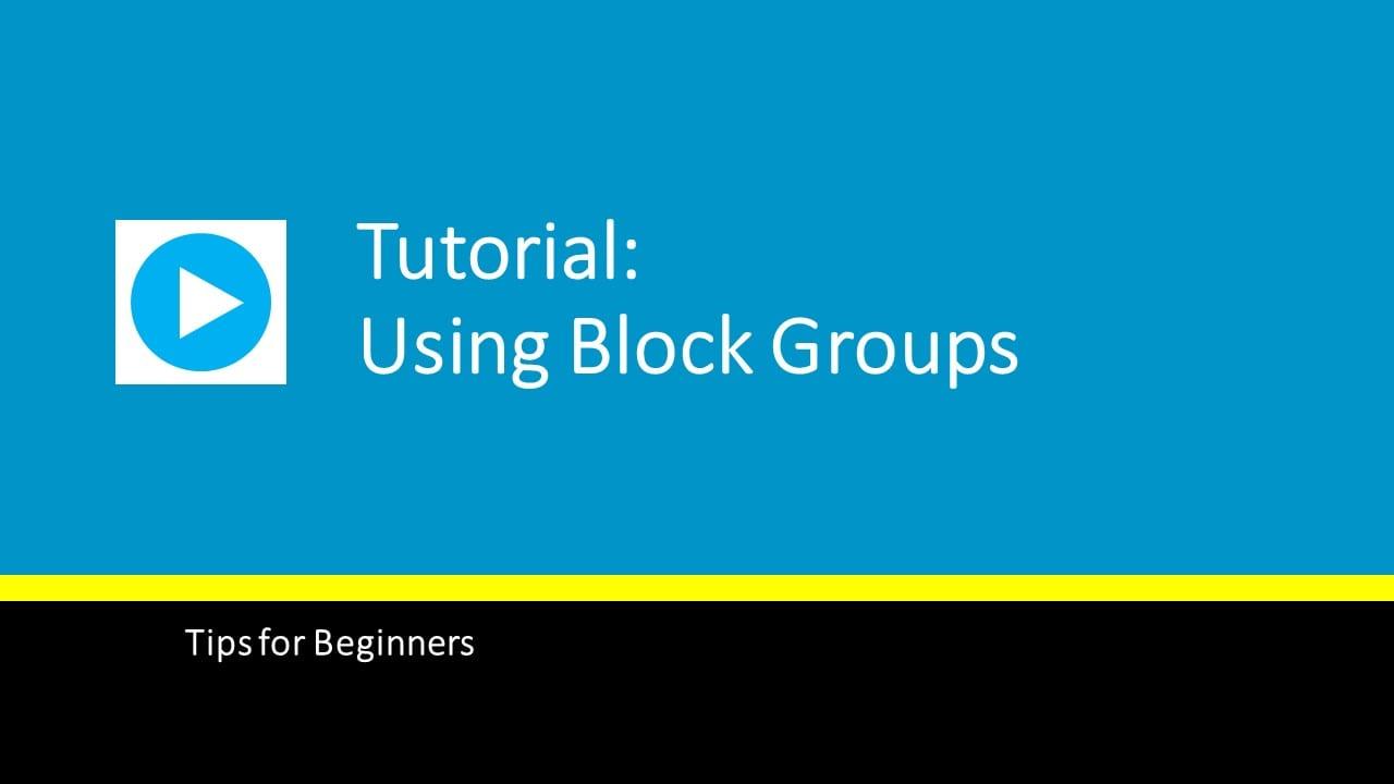 using-block-groups